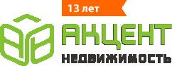 Логотип агентства недвижимости Акцент